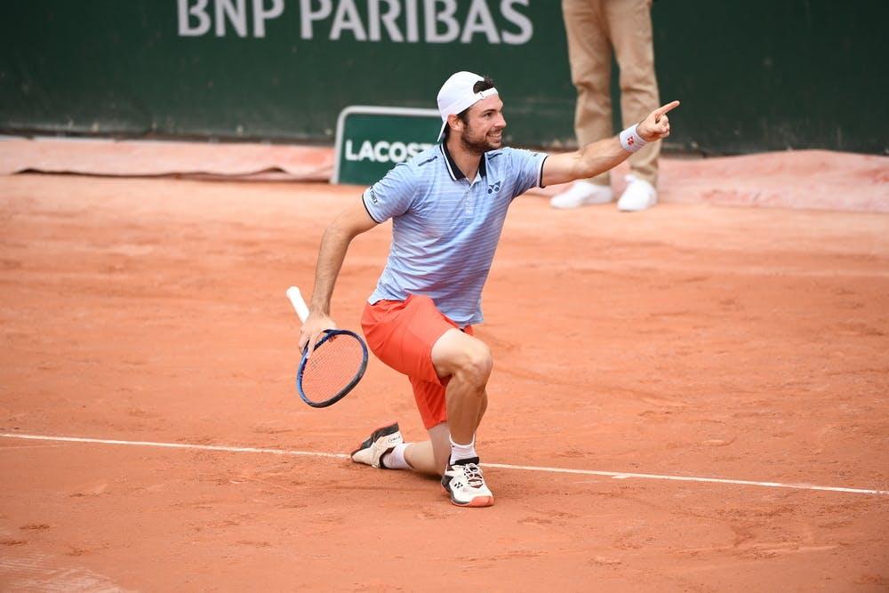 Jurij Rodionov, Roland Garros 2020, qualifying final round