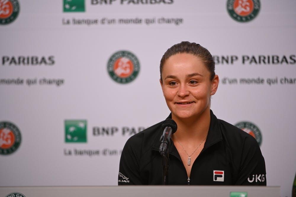 Ashleigh Barty, Roland-Garros 2021