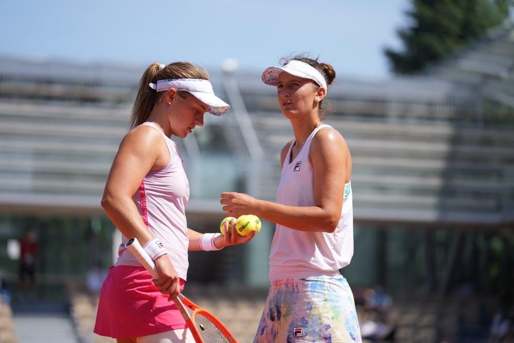 Nadia Podoroska, Irina-Camelia Begu, women's doubles quarter-finals