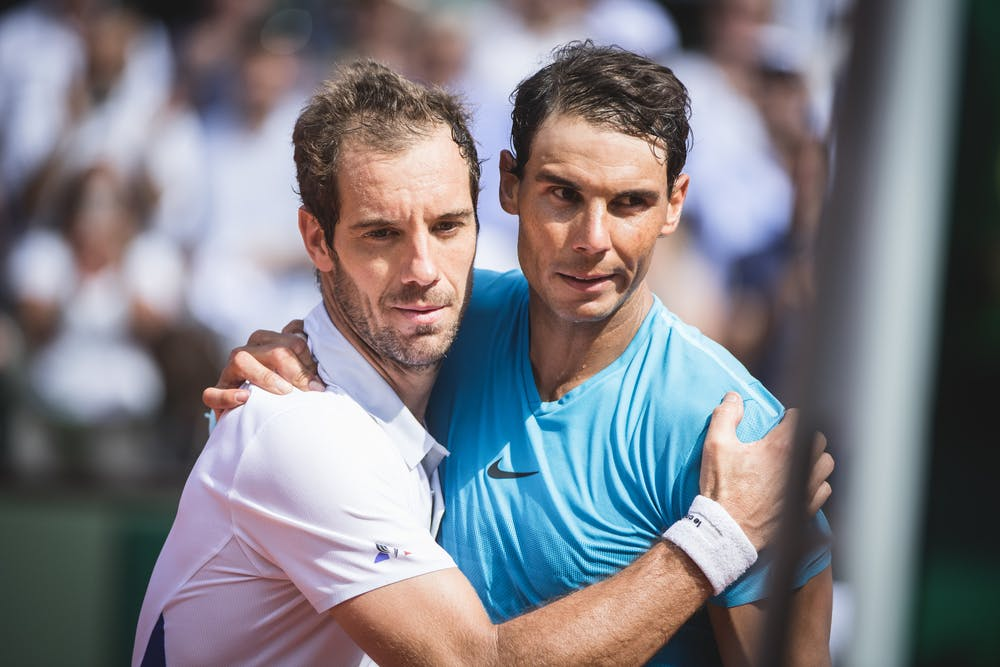 Richard Gasquet et Rafael Nadal / Roland-Garros 2018