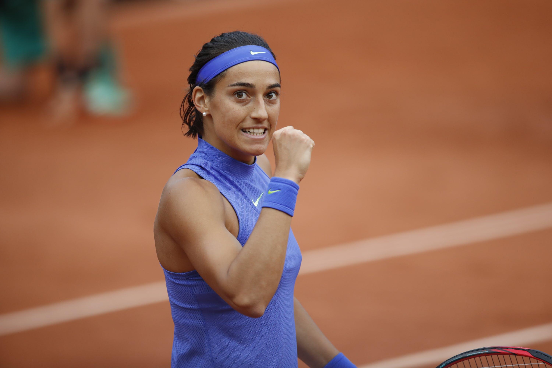 Caroline Garcia at Roland-Garros 2017