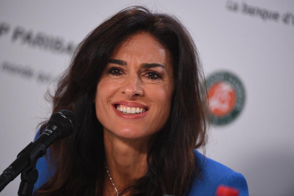 Gabriela Sabatini press conference Roland Garros 2019