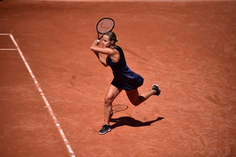 Anna Karolina Schmiedlova, Roland Garros 2021, qualifying third round