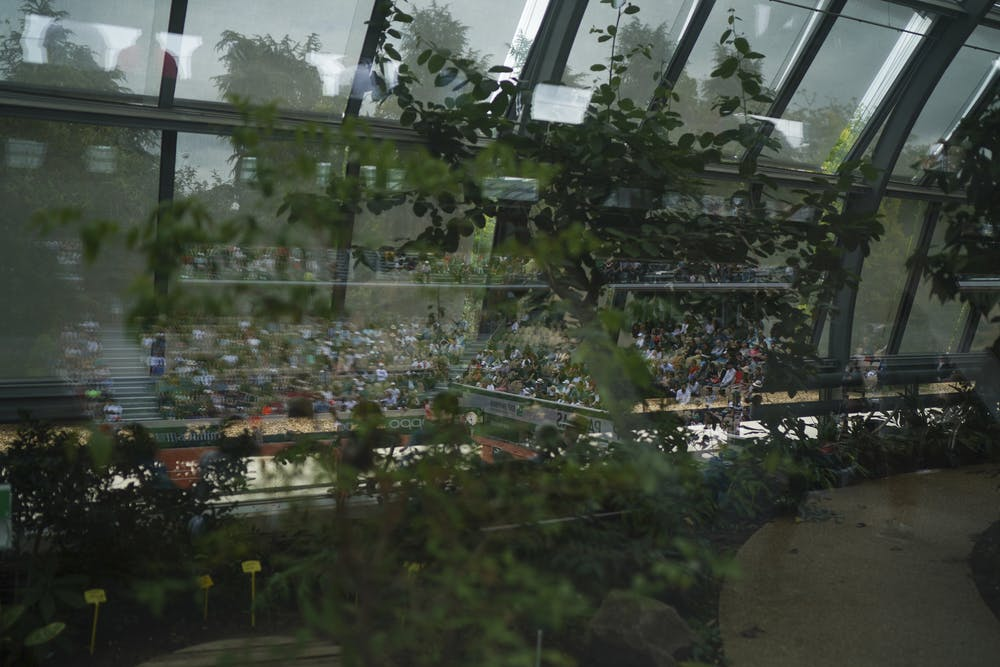 Court Simonne-Mathieu greenhouses