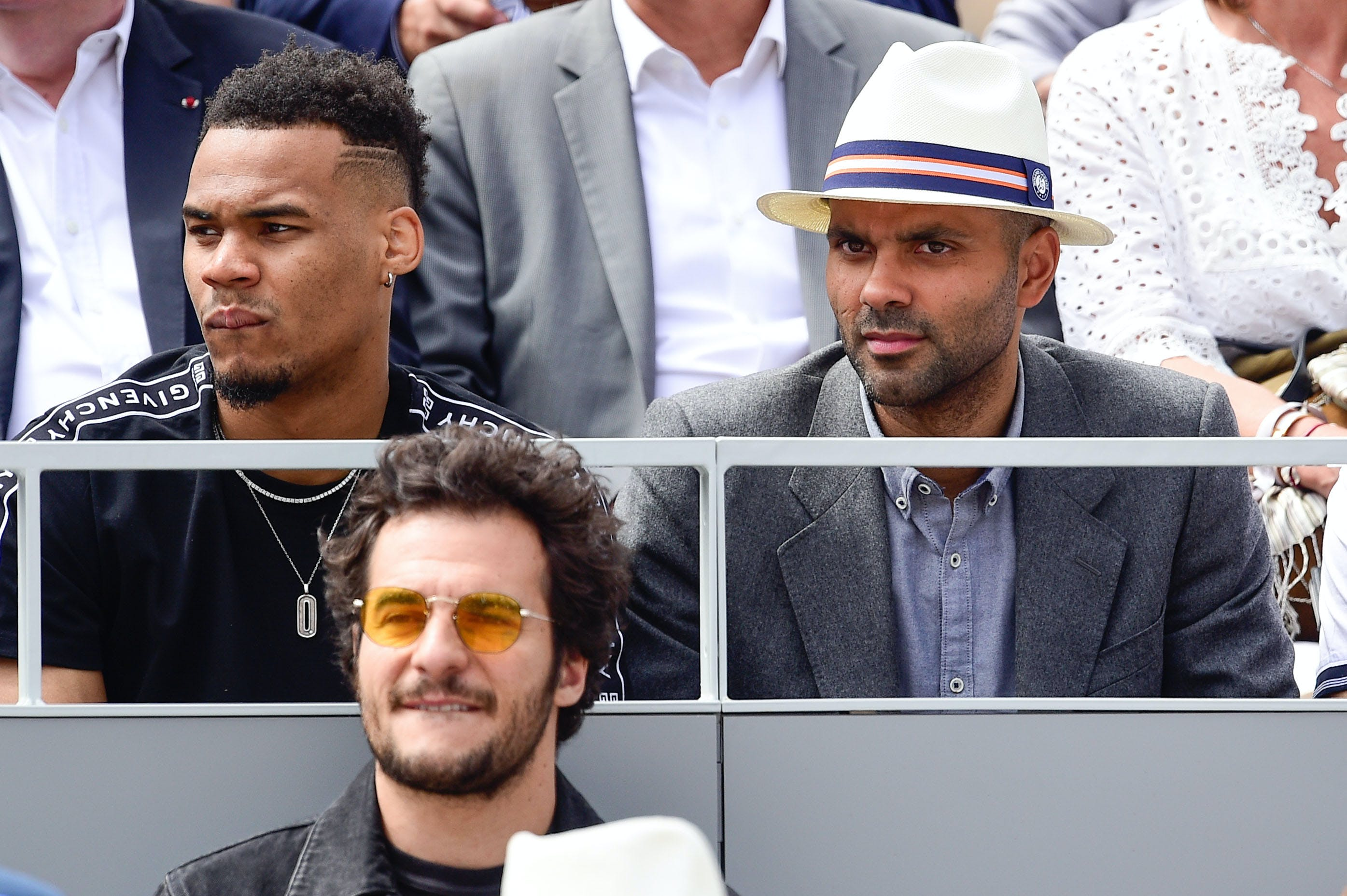 Former NBA player Tony Parker Roland-Garros 2019
