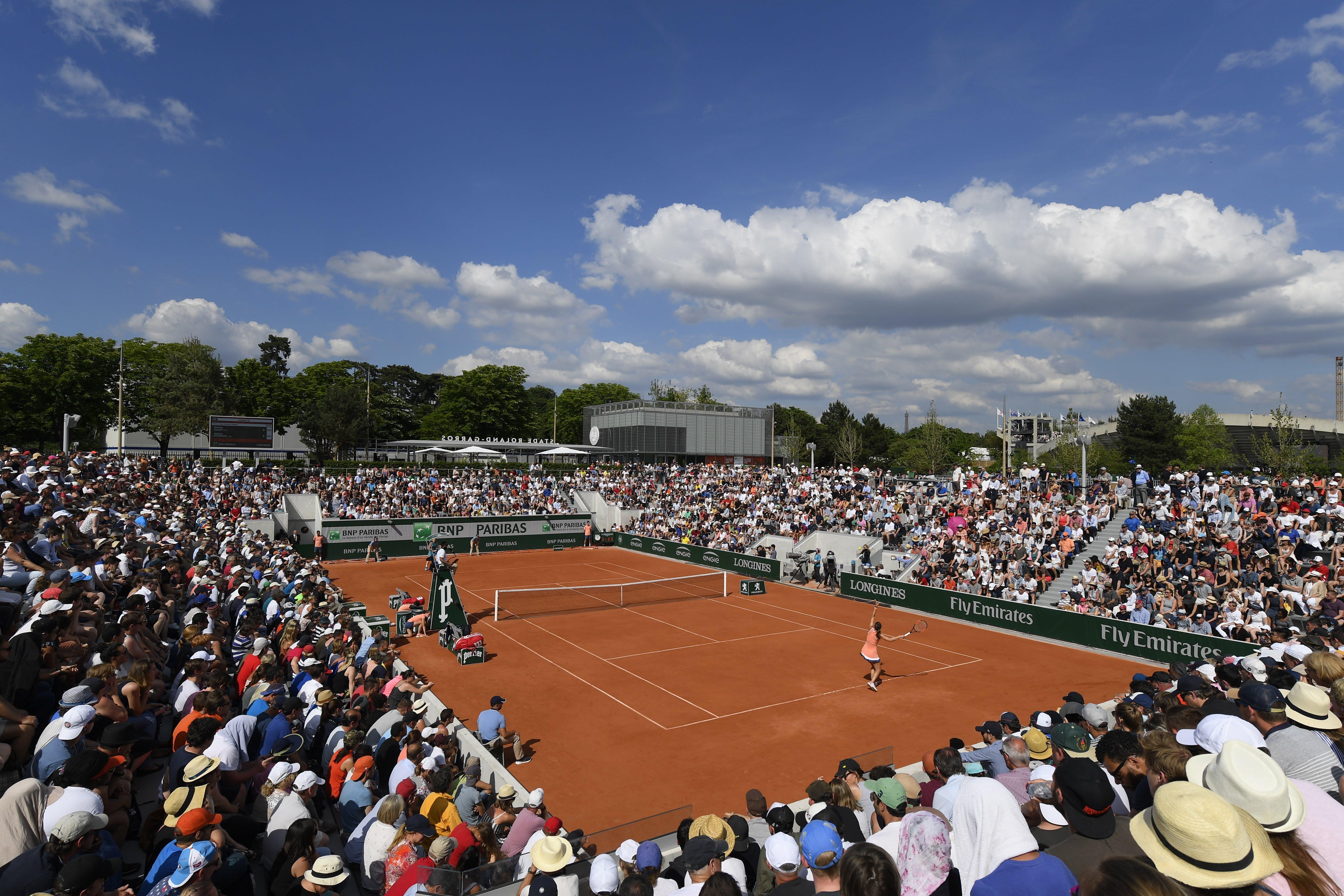 Qualifications Roland-Garros 2018 Court 18