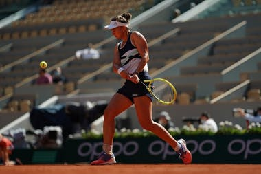 Barbora Krejcikova, Roland-Garros 2021, quarter-finals
