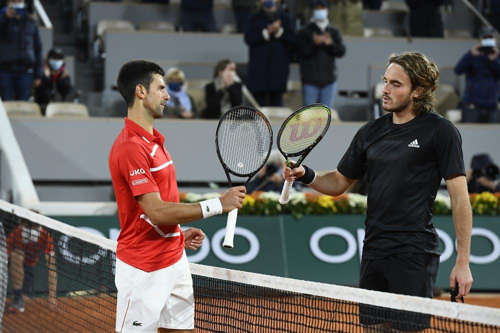 Tsitsipas Djokovic Roland-Garros 2020