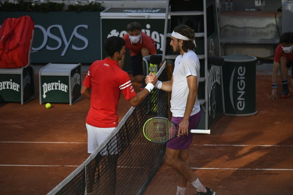 Novak Djokovic, Stefanos Tsitsipas, Roland-Garros 2021 final