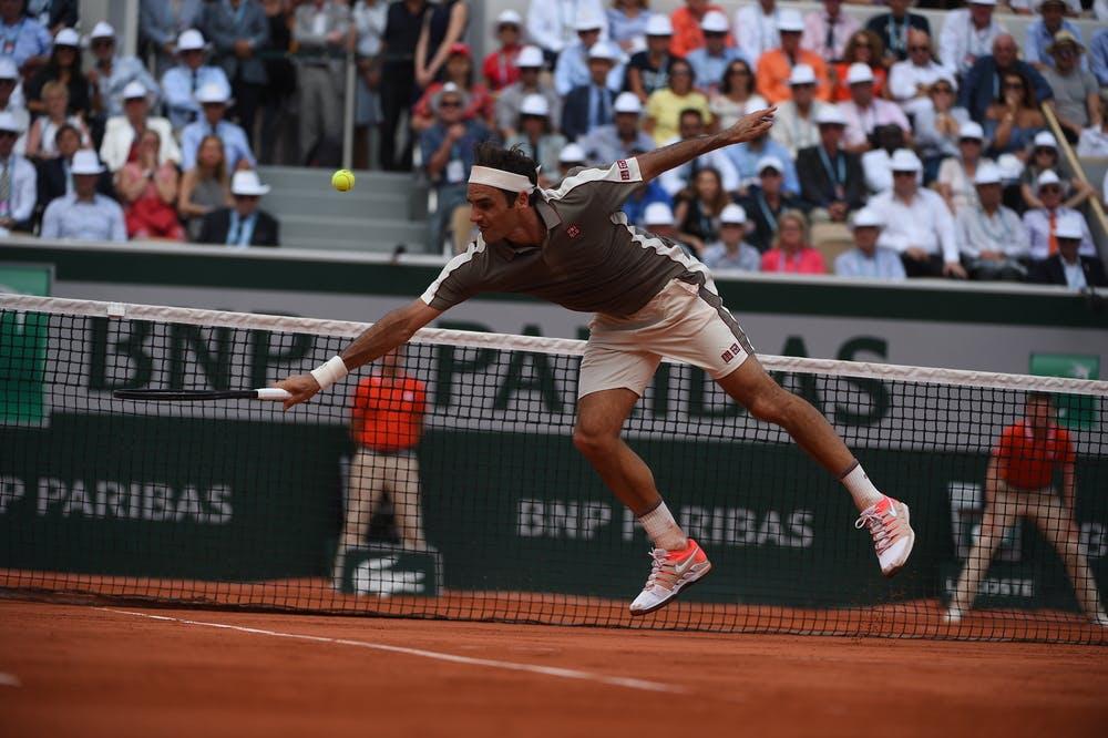 Roland-Garros 2019 - Federer - court Suzanne-Lenglen