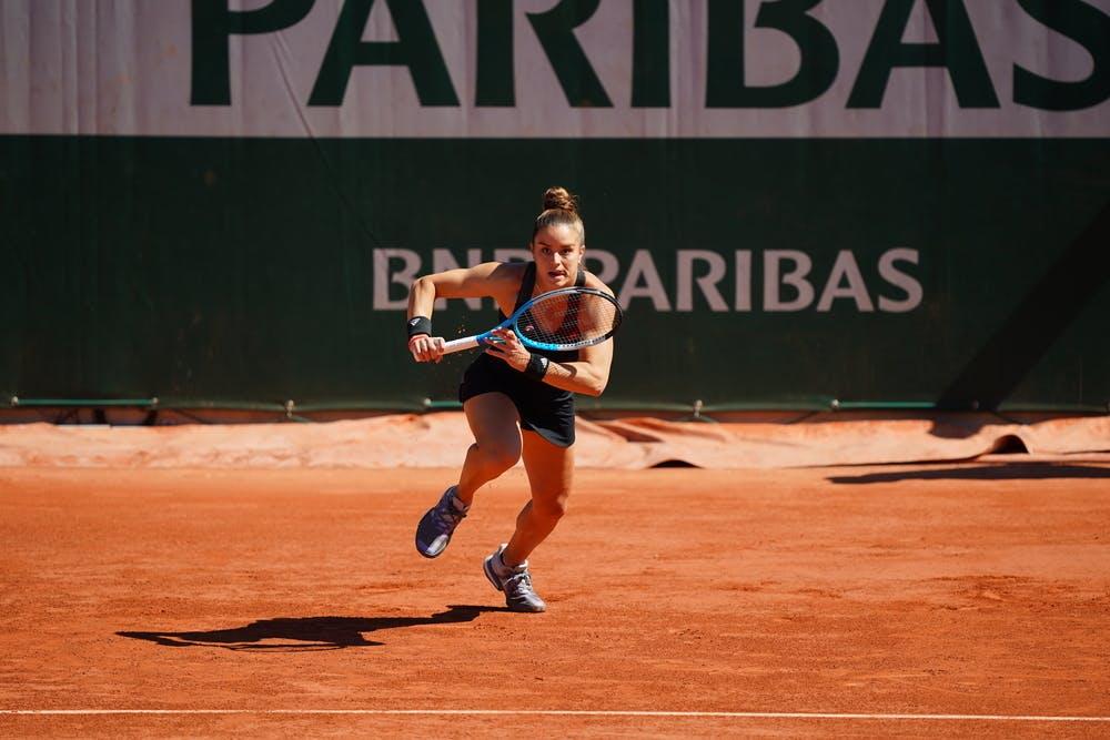 Maria Sakkari, Roland Garros 2021, first round