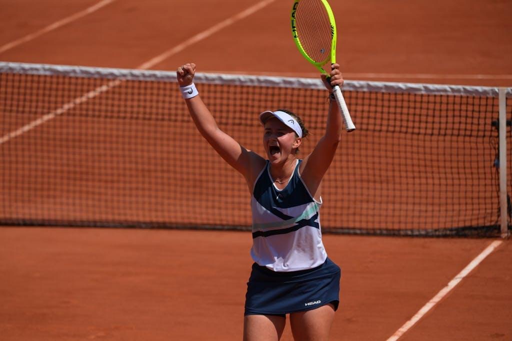 Barbora Krejcikova, Roland Garros 2021, fourth round