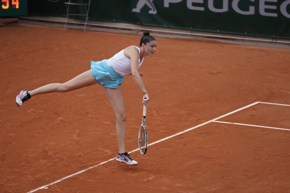 Elsa Jacquemot, Roland Garros 2020, junior semi-finals