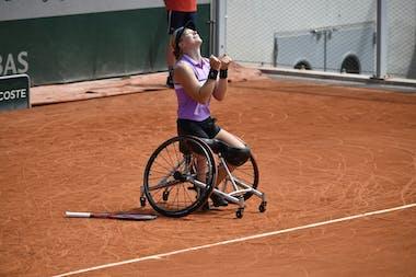 Diede de Groot, Roland Garros 2021, wheelchair singles final