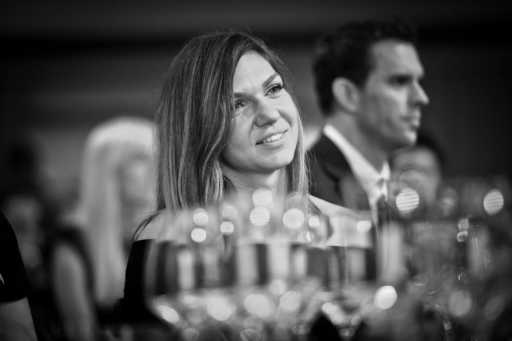 Simona Halep during the ITF World Champions dinner 2019