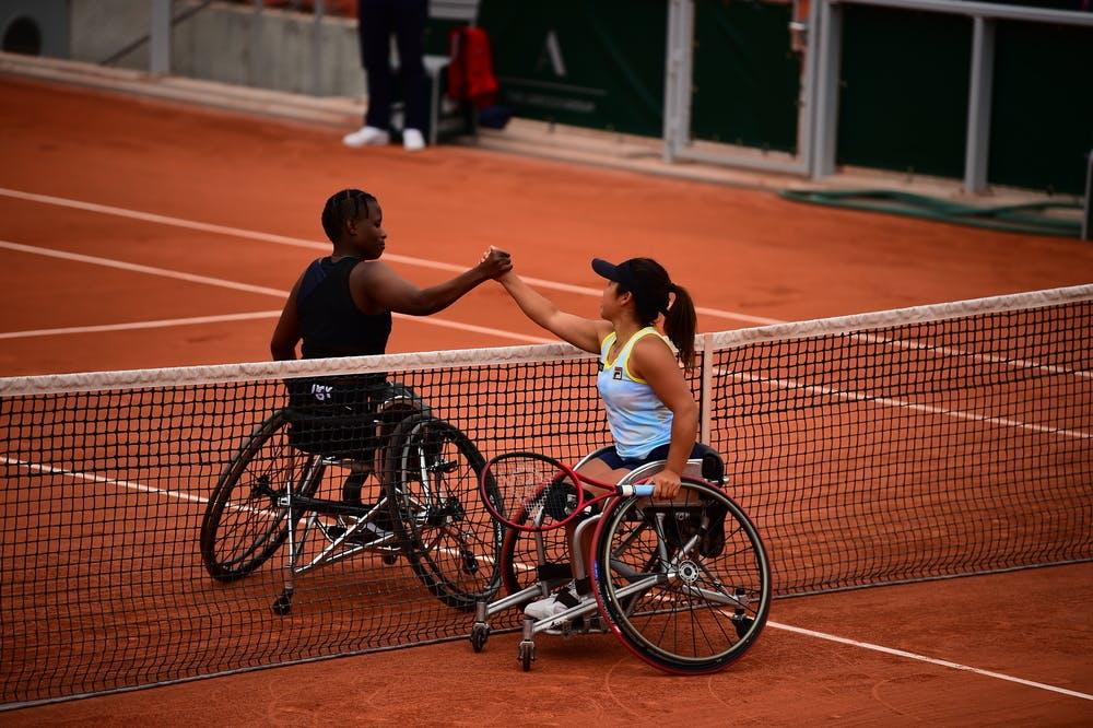 Kgothatso Montjane, Yui Kamiji, Roland-Garros 2021 women's wheelchair singles semi-finals