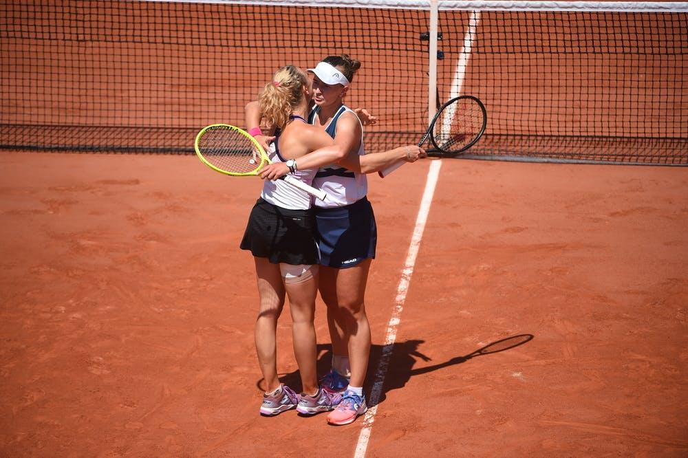 Barbora Krejcikova et Katerina Siniakova, Roland-Garros 2021