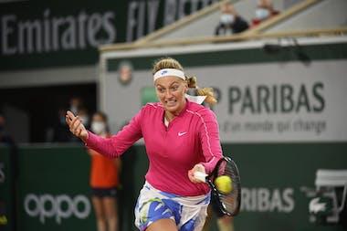 Petra Kvitova, Roland-Garros 2020, huitièmes de finale