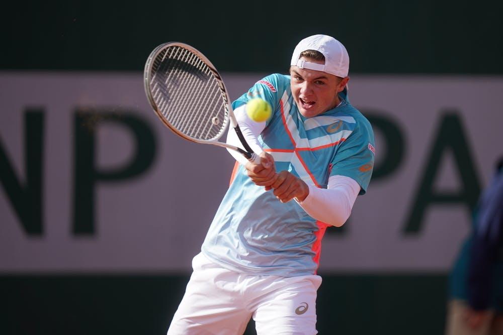 Dominic Stephan Stricker, Roland Garros 2020, boys singles
