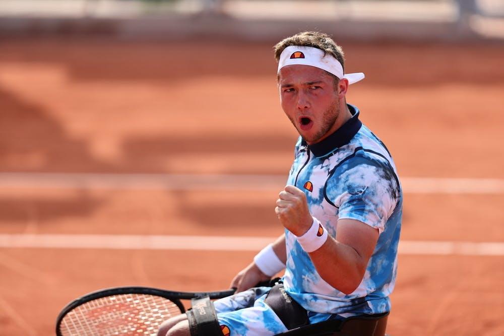 Alfie Hewett, Roland-Garros 2021, quarter-finals