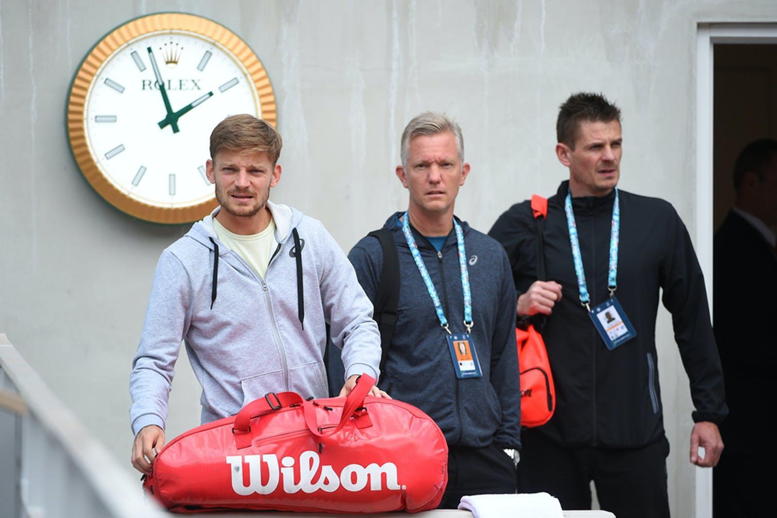 David Goffin Thomas Johansson Roland Garros
