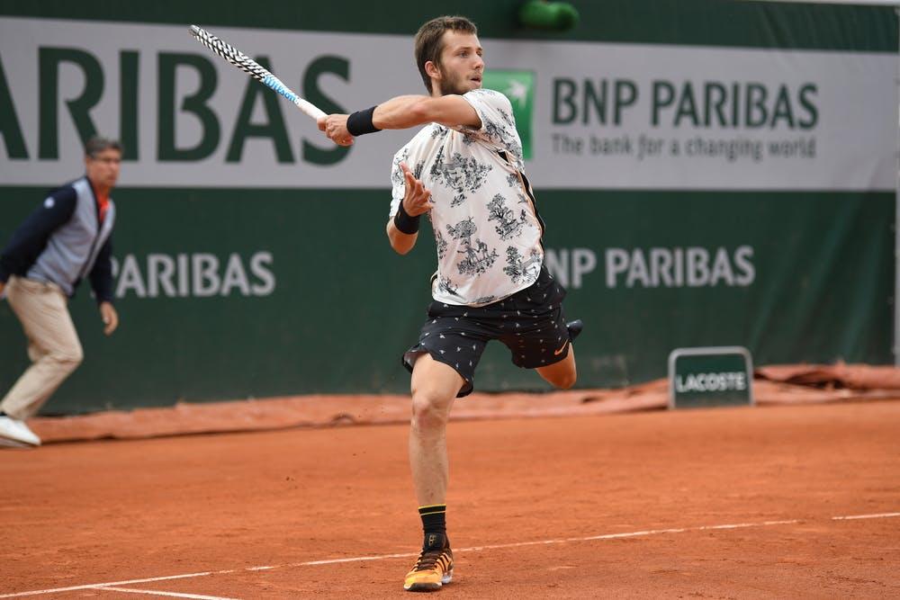 Corentin Moutet Roland Garros 2019
