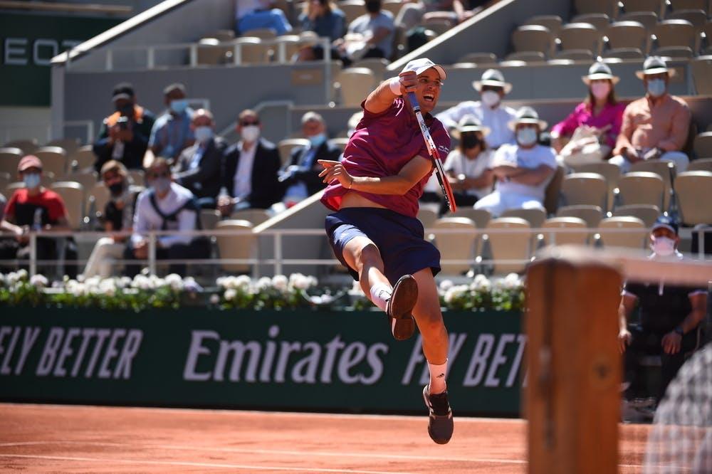 Dominic Thiem, Roland Garros 2021, first round