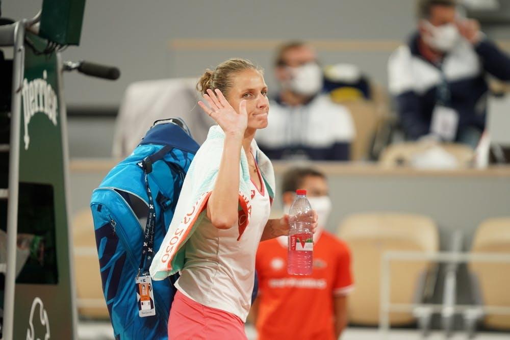 Karolina Pliskova, Roland-Garros 2020, 2e tour