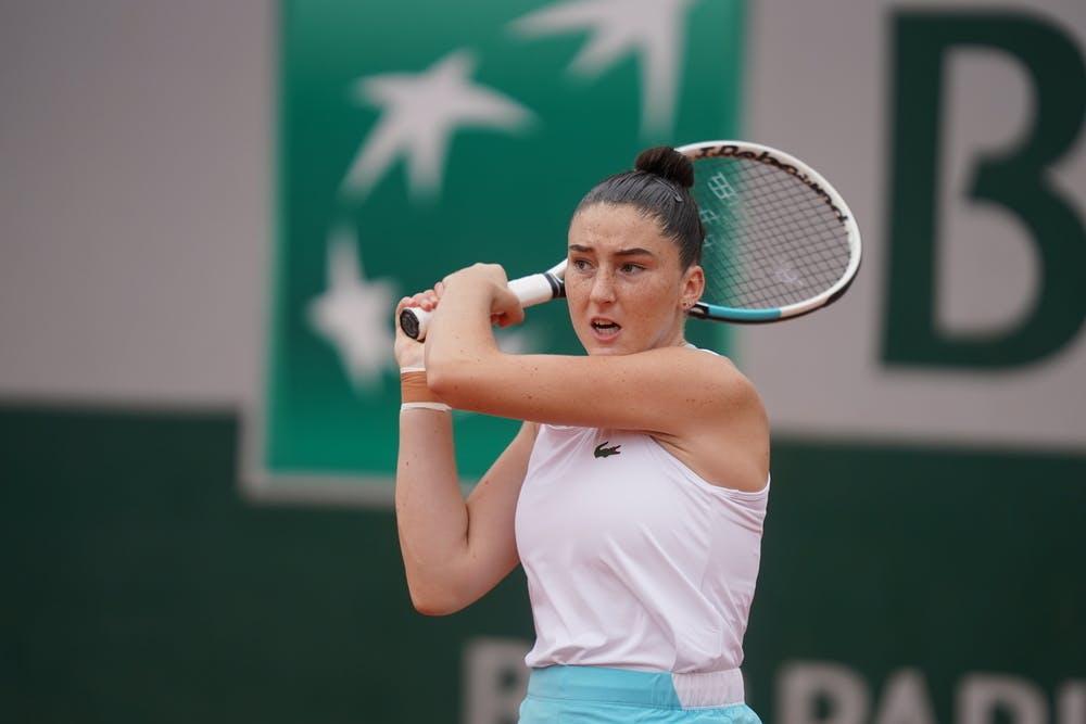 Elsa Jacquemot, Roland-Garros 2020, 1/2 finale