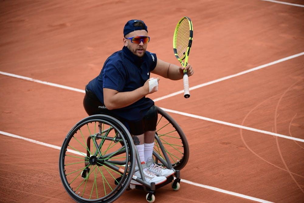Dylan Alcott, Roland-Garros 2021, men's quad singles semi-final