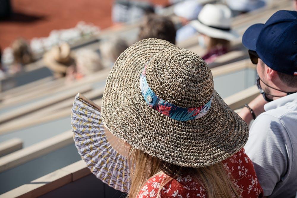 Looks spectateurs Roland-Garros