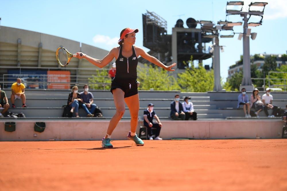 Danielle Collins, Roland Garros 2021, first round