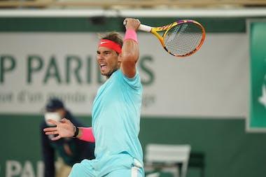 Rafael Nadal, Roland-Garros 2020, quarts de finale