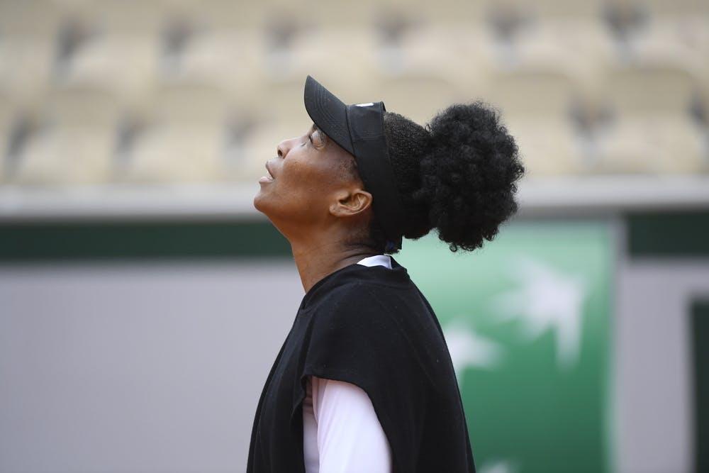 Venus Williams, Roland Garros 2020, first round