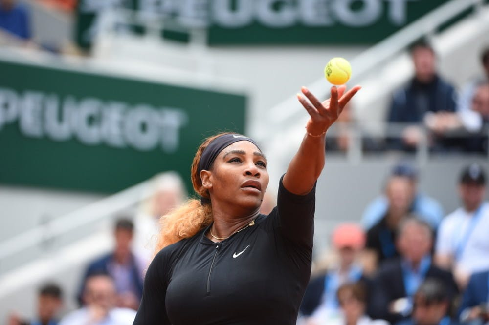 Serena Williams - Roland-Garros 2019 - 2e tour