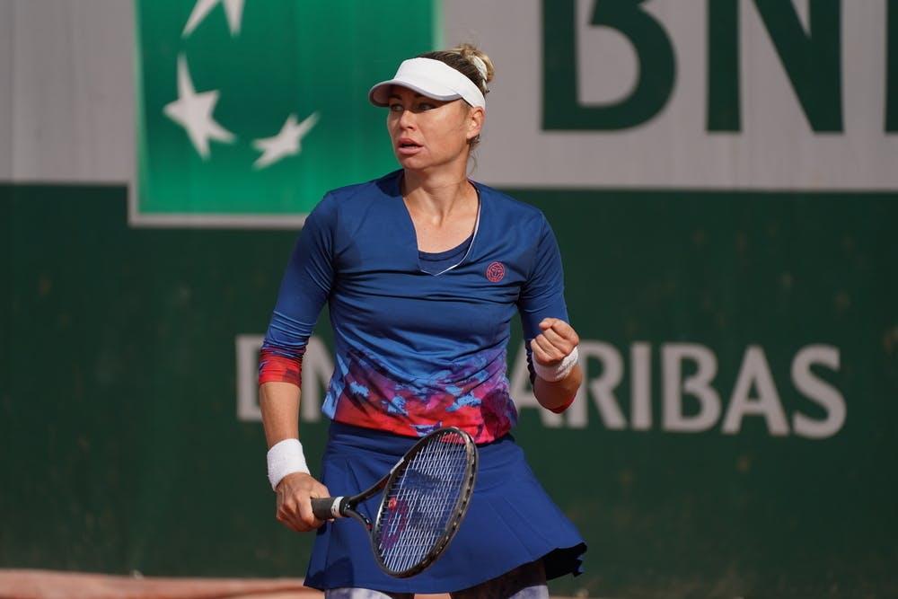 Vera Zvonareva, Roland Garros 2020, qualifying second round