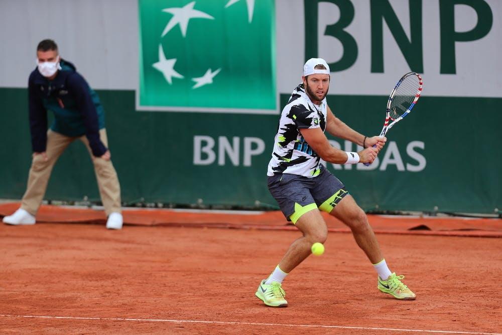 Jack Sock, Roland Garros 2020, qualifying second round