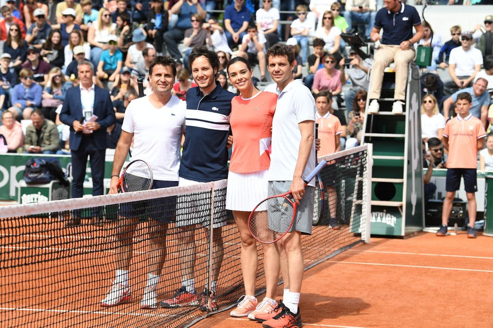 Roland-Garros 2019 - Les Enfants de Roland-Garros - Stars, set et match- Demi-finales - Fabrice Santoro - Paul-Henri Mathieu - Vianney - Marine Lorphelin