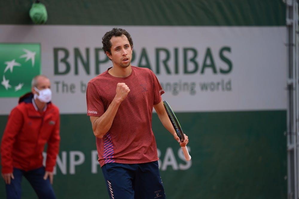 Daniel Elahi Galan , Roland Garros 2021 qualifying