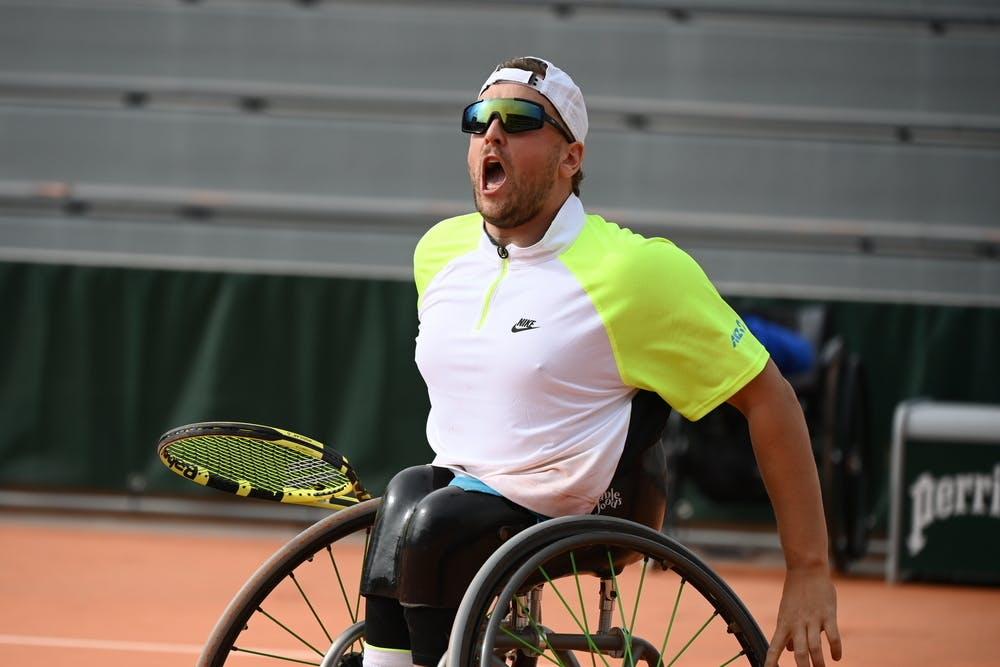 Dylan Alcott, Roland Garros 2020, men's quad wheelchair semi-finals