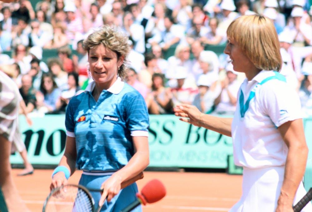 Chris Evert Martina Navratilova Roland-Garros 1984