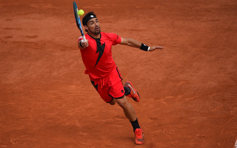 Roland-Garros 2018, 8e de finale, Fabio Fognini