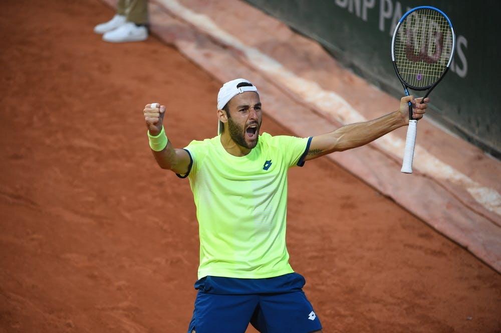 Stefano Travaglia, Roland-Garros 2020, 2e tour