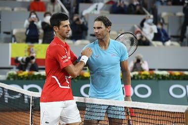 Rafael Nadal Novak Djokovic Roland Garros 2020
