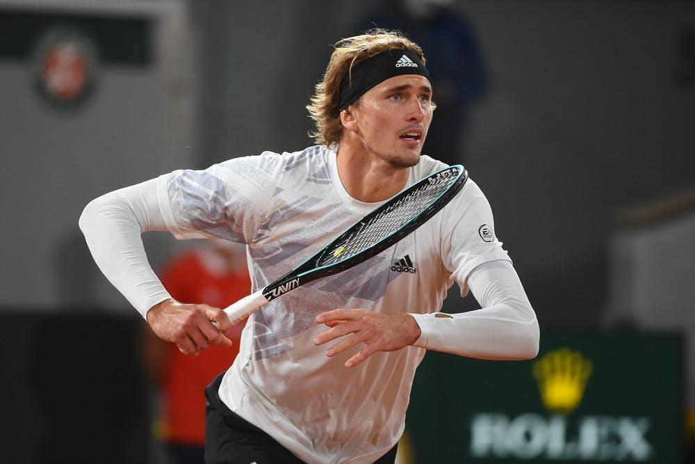 Alexander Zverev, Roland-Garros 2020, 1er tour