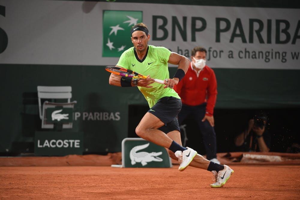 Rafael Nadal, Roland Garros 2021, second round