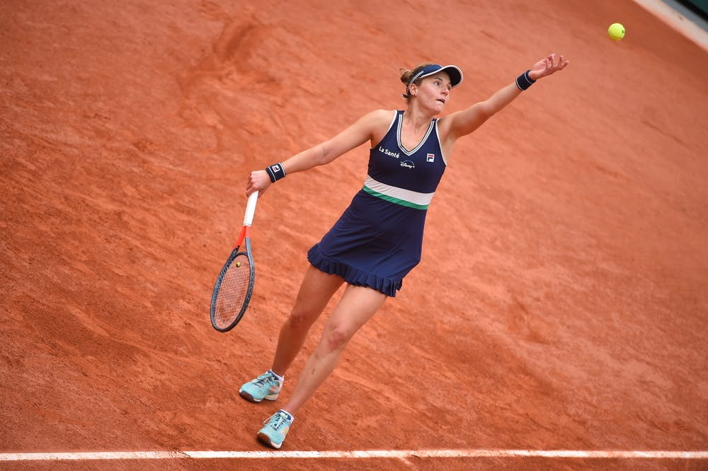 Nadia Podoroska, Roland Garros 2020, semi-final