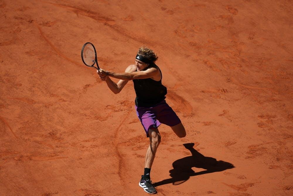 Alexander Zverev, Roland-Garros 2021, semi-final