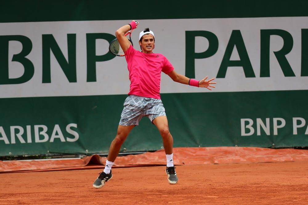 Federico Coria, Roland Garros 2020, first round