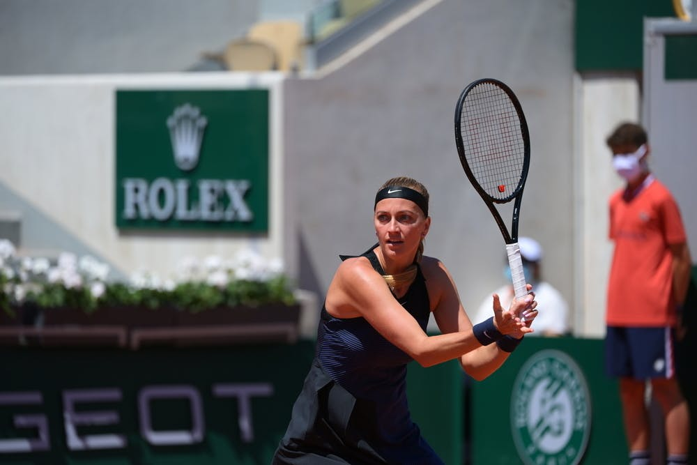 Petra Kvitova, Roland Garros 2021, first round